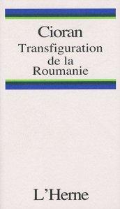 Cioran transfiguration